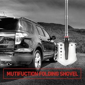 Mutifuction Folding Shovel